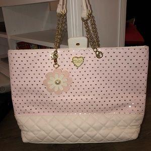 Betsey Johnson LG Tote Handbag